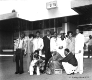 AFRICAN BROTHERS @ ACCRA AIRPORT CIRCA 76_C